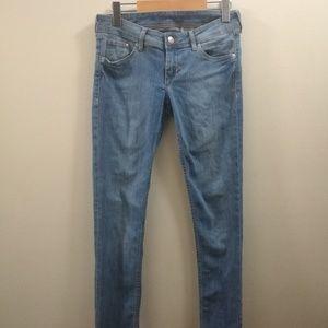H&M Super Skinny Light Wash Jeans